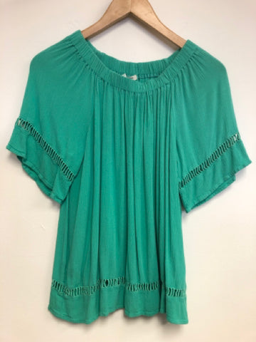 Westbound Size Small Green Top