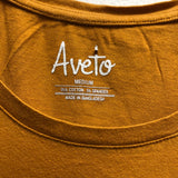 aveto Size Medium Mustard Top