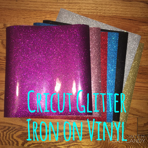 Cricut Glitter Iron On Htv