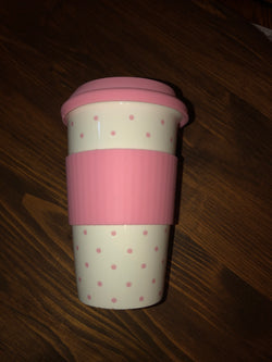 Ceramic and Silicone travel mug