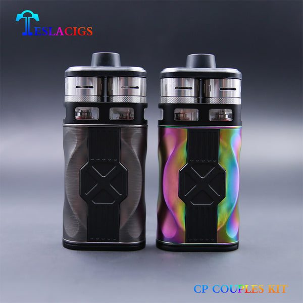 Teslacigs Tesla CP Couples kit dual RTDA Tank Double Barrel 220W 8ml