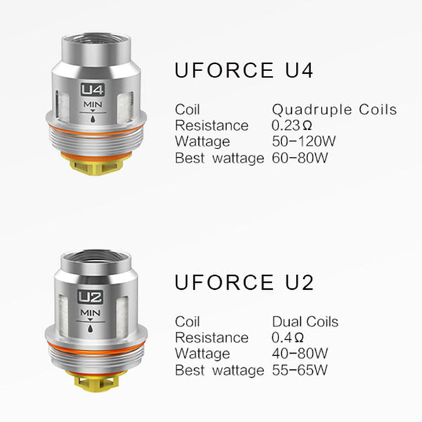 VOOPOO UFORCE U Series Replacement Coils (5pcs/pack)