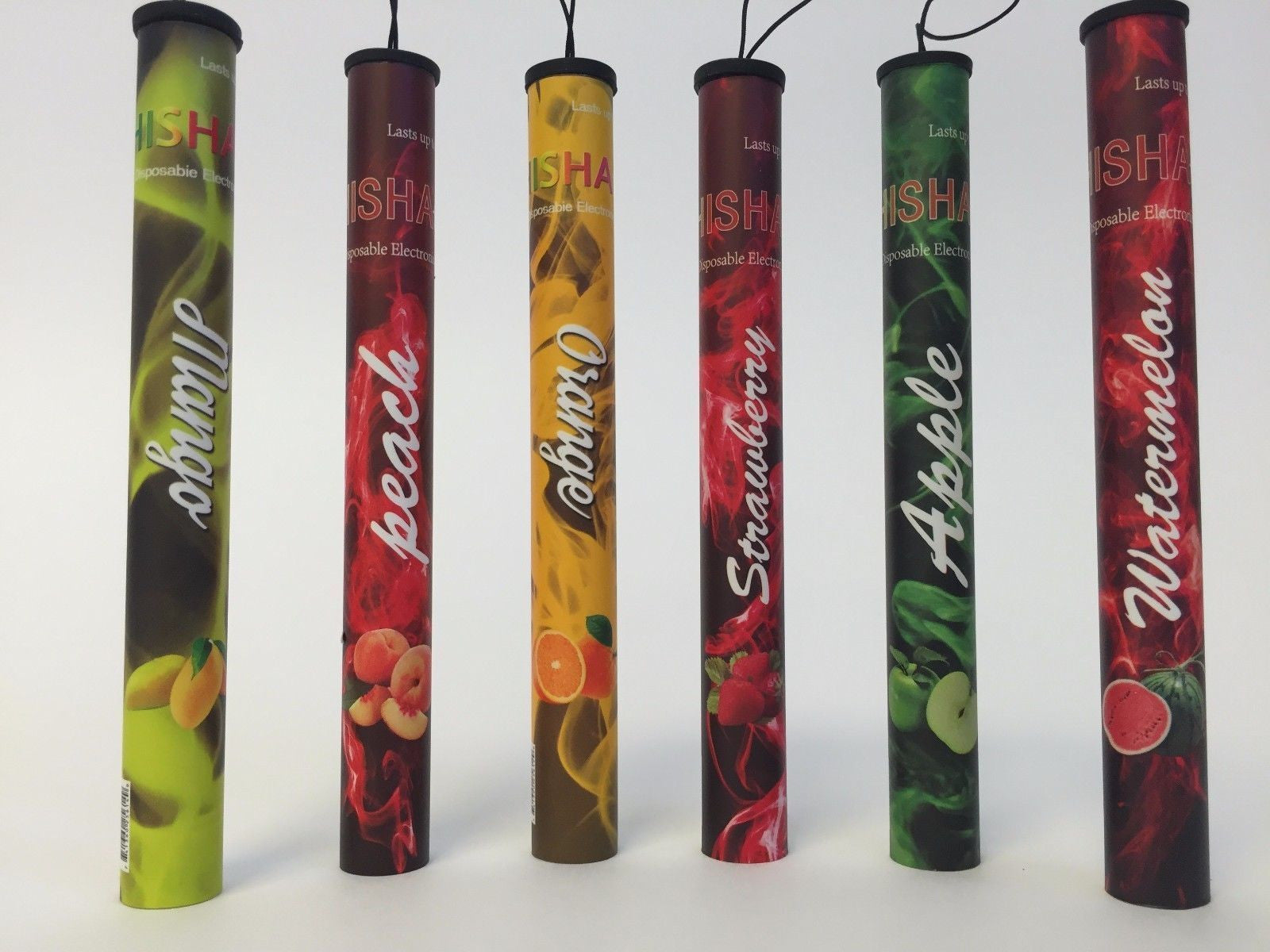 5 HOOKAH PEN DISPOSABLE E-SHISHA Various Flavors