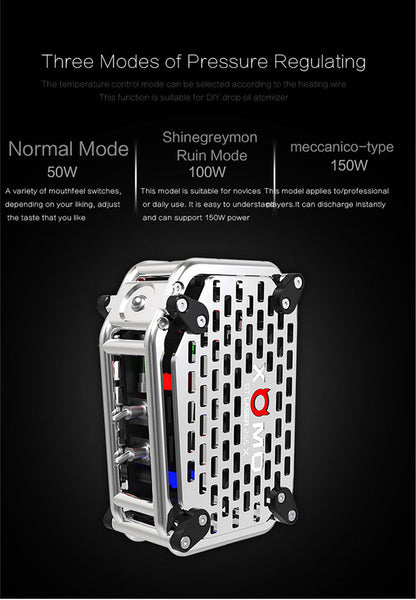 NEW DESIGN! XOMO GT Laser 255X 150W - Trick Mod! Fast Ramp up! 0.025ms