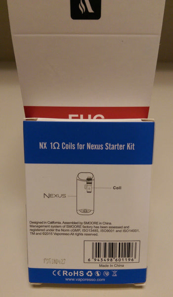 Vaporesso Nexus CCELL Coils Cotton Coils (5pcs/pack)