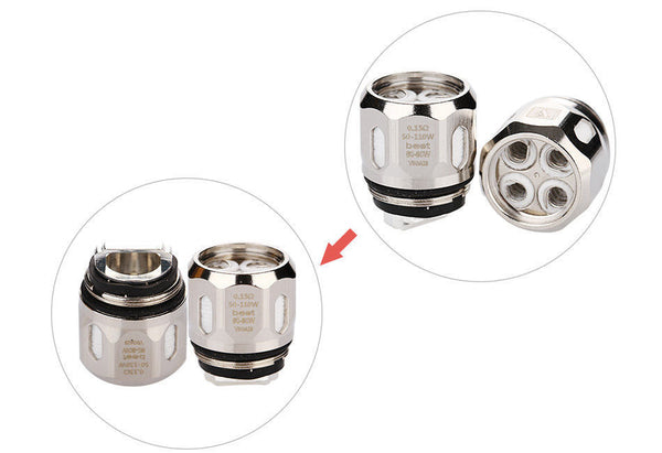 Vaporesso GT4 / GT8 (3Pcs/pack) Core Coil for NRG Tank and Revenger Kit