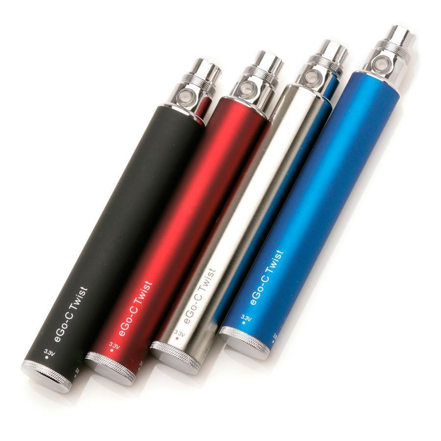 C-Twist II 1100mAh Variable Voltage Replacement Battery 510 Thread 3.3V-4.8V