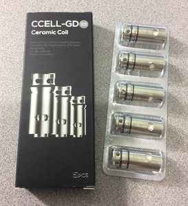Vaporesso CCELL-GD SS 0.5/0.6ohm coils Guardian tank for Target Mini