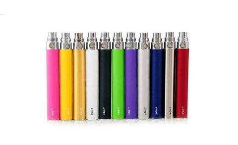eGo batteries 650mAh 1100mAh