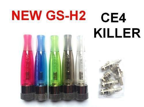 GS-H2 2.0mL Bottom Coil BCC Tank 510 Thread vape Atomizer clearomizer