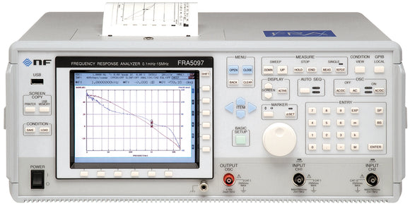 NF Corporation FRA5097 Frequency Response Analyzer