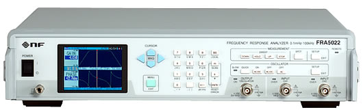 NF Corporation FRA5022 Frequency Response Analyzer