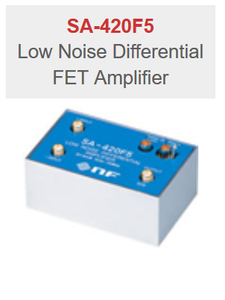 NF Corporation SA-420F5 Low Noise Differential FET Amplifier