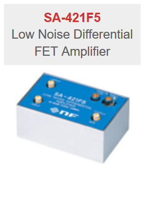 NF Corporation SA-421F5 Low Noise Differential FET Amplifier
