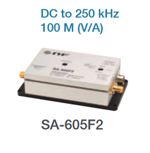 NF Corporation SA-605F2 WIDEBAND CURRENT AMPLIFIER