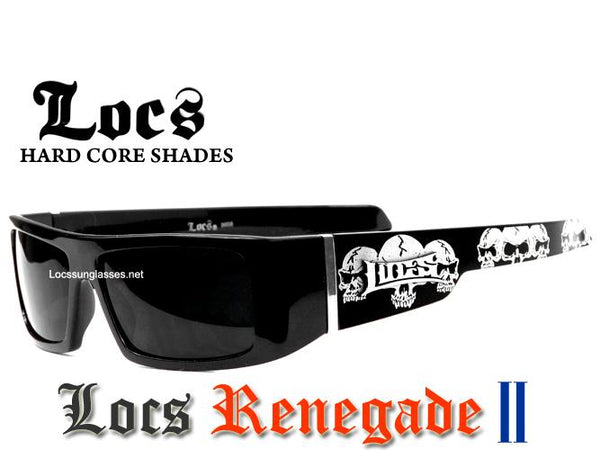 Dark  Locs Sunglasses -Renegade ll
