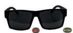 "locs  SUPER dark "" Kush"" Logo Shades Cat 4"