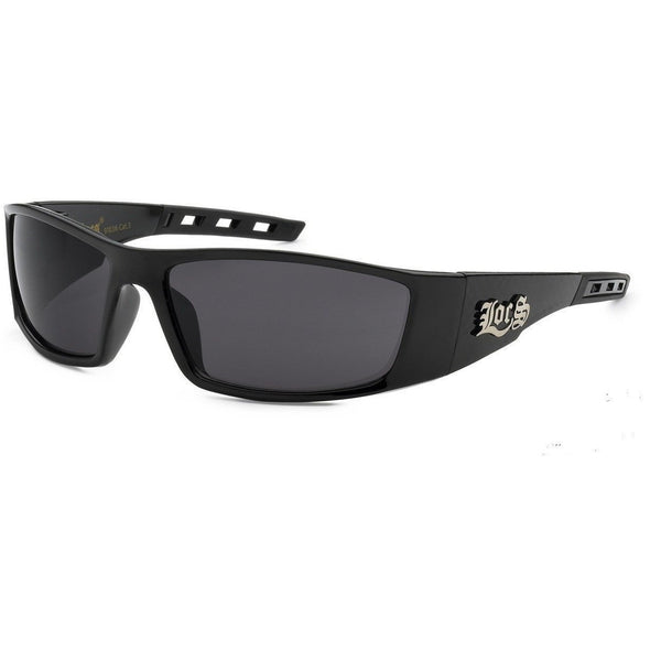 Dark Locs Black Men's Sunglasses