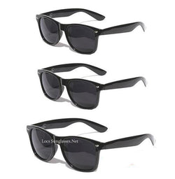 OG Veterano Gangster locs dark black sunglasses - LocsShades.net
