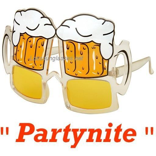 Party Beer Sunglasses