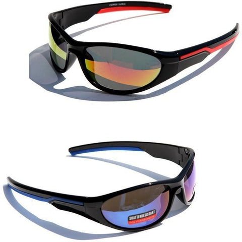 Sports Sunglasses with Shatter Resistant lens