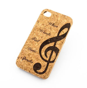 Snappy Phone Case Made From Real Cork