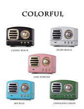Load image into Gallery viewer, Retro Wireless Mini Bluetooth/Radio - Takes You Back To The Fifties!!!