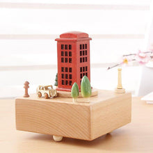 Load image into Gallery viewer, 100% Maple Wood Handcrafted Music Box! A Special Gift!