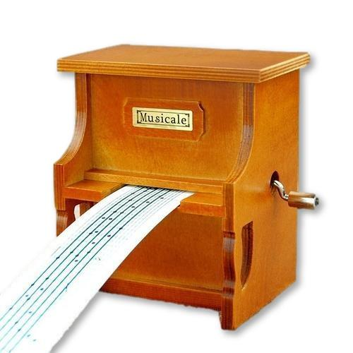 Customize 30 Special Songs With This Wooden Piano Music Box!