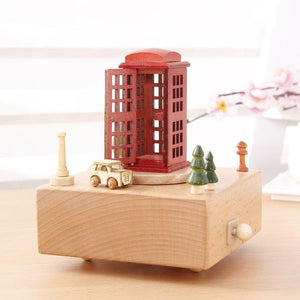100% Maple Wood Handcrafted Music Box! A Special Gift!