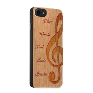 New Arrival! Wooden Phone Cases Available in Black or Brown!