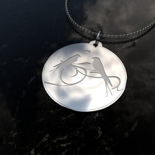 Load image into Gallery viewer, Sterling Silver, Birds Singing, Pendant Necklace