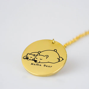 Are You A Mama Bear? This Pendant Necklace Is For You!