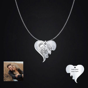 Personalize This Heart Pendant With Your Special Picture!