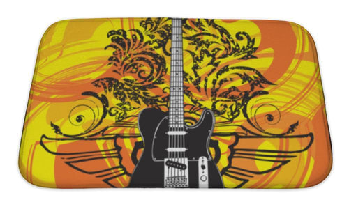 Cool Electric Guitar Bath Mat!
