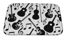Load image into Gallery viewer, Guitar Sounds Bath Mat!