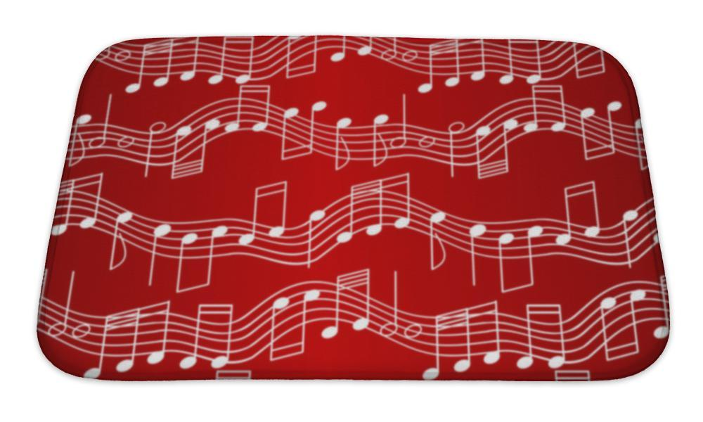 Red, Red, Red Bath Mat!