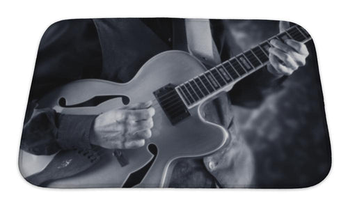 Jazzy Guitar Bath Mat!