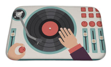 Load image into Gallery viewer, DJ'S Turntable Bath Mat