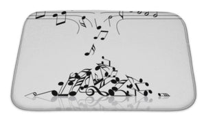Scattered Notes Bath Mat!