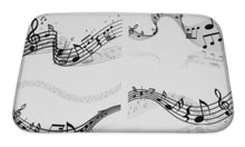 Load image into Gallery viewer, Sheet Music Bath Mat!