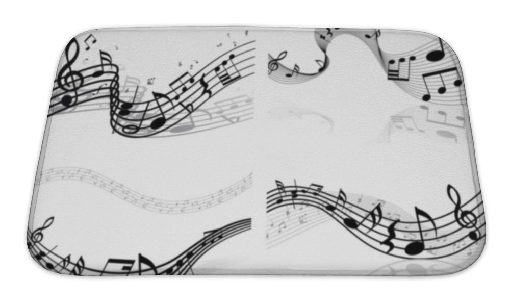 Sheet Music Bath Mat!