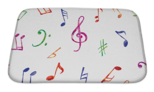 Delightful Music Notes Bath Mat!