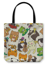 Load image into Gallery viewer, Cartoon Tote Bag!