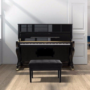 Classic Height-Adjustable Duet Piano Bench!