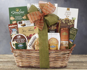 "Send This ""Grand Gourmet"" Gift Basket To Your Family!"