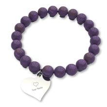 Load image into Gallery viewer, Mom's Bracelet in Stunning Amethyst or Tiger Eye