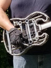 Load image into Gallery viewer, A Statement Piece! Handcrated Scrap Metal Electric Style Guitar