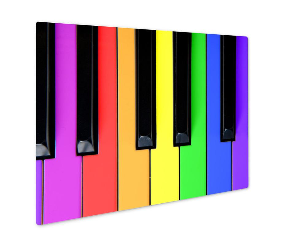 Metal Panel Print, Bright Music For Kids!