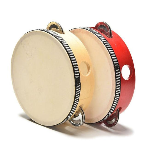 High Quality Wooden Tambourine For The Drummer In Your Family!